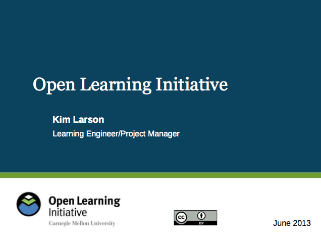 Effective Open Course Design Presentation