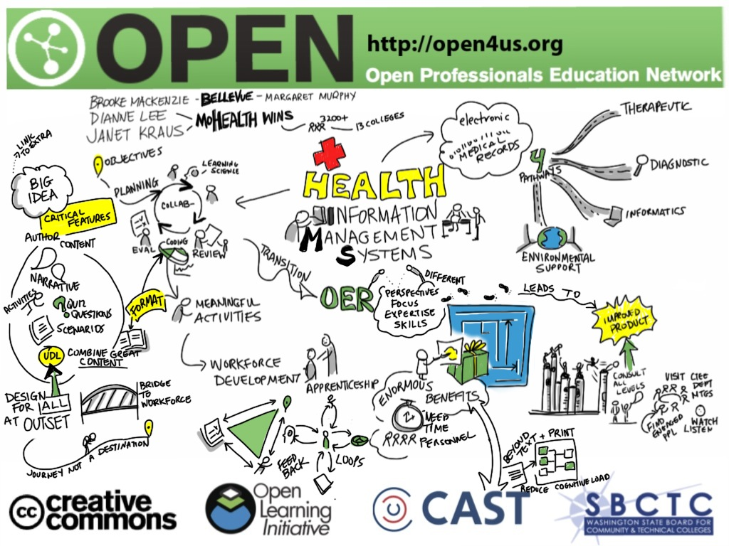MoHealthWINs Graphic Recording